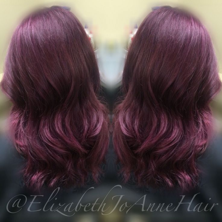 17 best ideas about wine colored hair on
