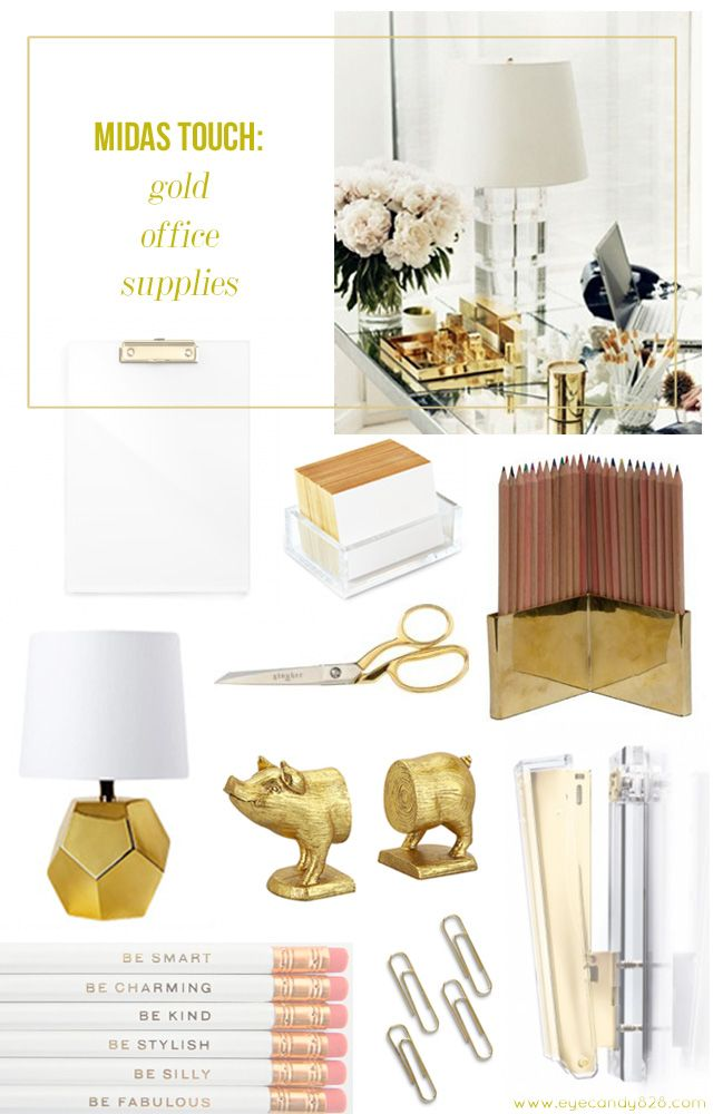 The Midas Touch Gold Office Supplies