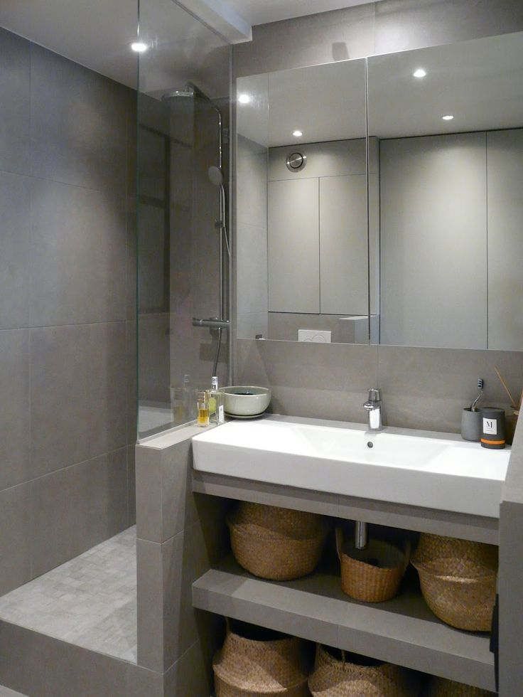 60 best SDB images on Pinterest Bathroom ideas, Room and Tiles - Salle De Bains Nantes