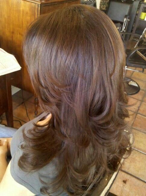 Brunette Long Layers - Hairstyles How To http://hairstyleshowto.com/layers-2/