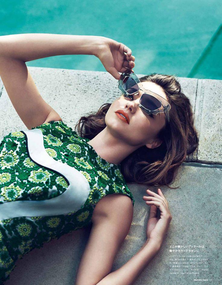 Miranda Kerr | Nino Munoz #photography | Numéro Tokyo June 2012