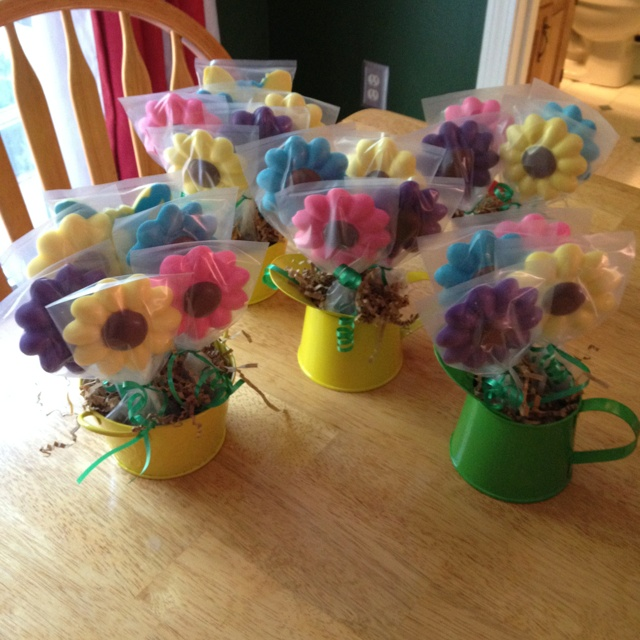 Chocolate flower arrangements for teacher gifts.#Repin By:Pinterest++ for iPad#