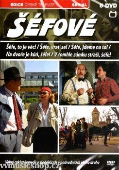 Televizní seriál z Edice České televize Šéfové na DVD.