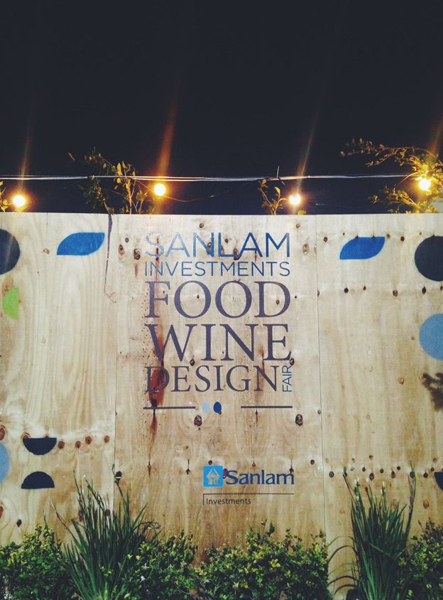 Sanlam Investments FoodWineDesign Fair 2013