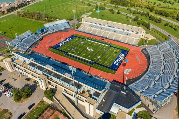 University At Buffalo Stadium Buffalo N Y Sports Stadium Stadium Football Stadiums