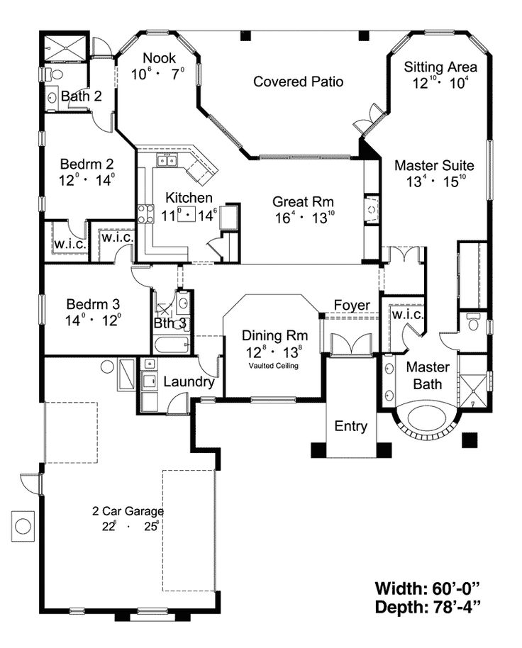 403 Best Floorplans Images On Pinterest | Architecture, Home Plans And  House Floor