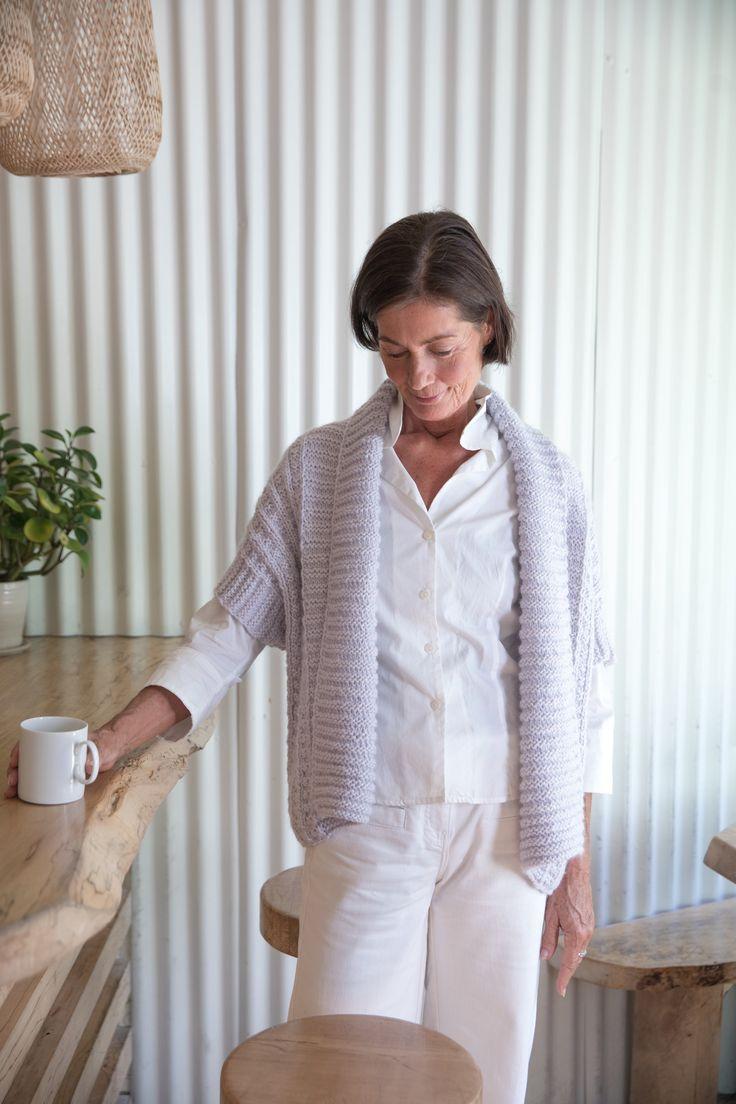 228 besten knit women\'s short-sleeved cardigans/jackets Bilder auf ...