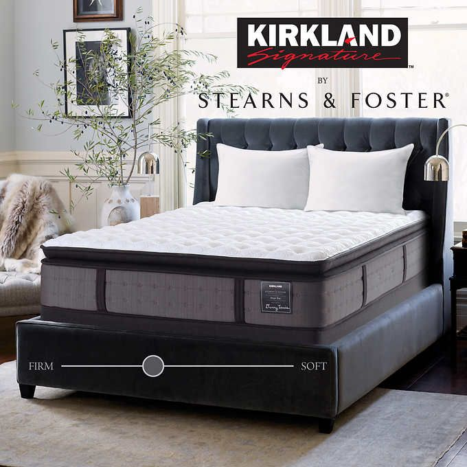kirkland signature by stearns and foster hope bay cal king mattress with foundation luxury firm euro pillow top cal king mattress with foundation mattress