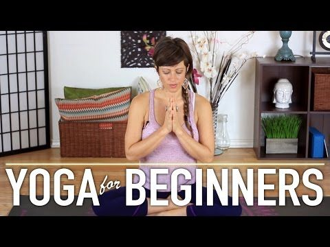 Yoga For Complete Beginners - Grounding The Body. Day 1 of 4 - YouTube