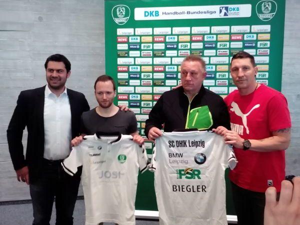 SC DHfK Leipzig stellte Frauen-Bundestrainer Michael Biegler als Chefcoach vor