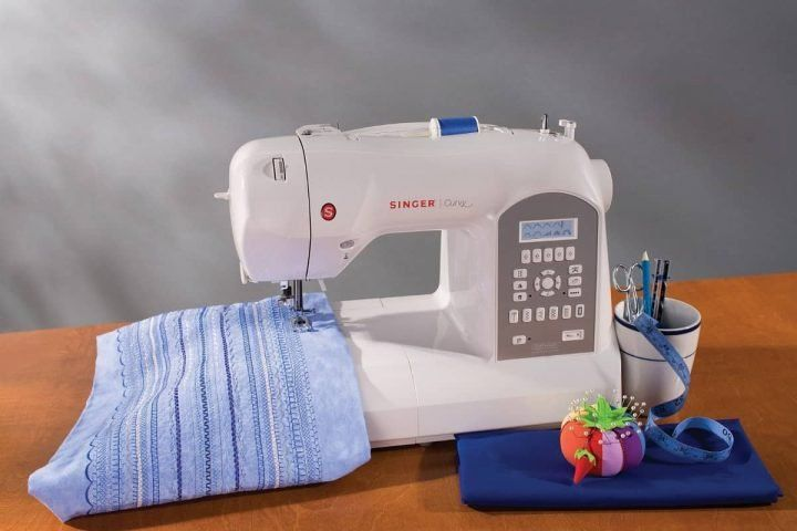 7 Formas Para Aprender A Coser En Maquina Singer Tradition Curso De Costura Advanced Sewing Best Embroidery Machine Sewing Machine Embroidery