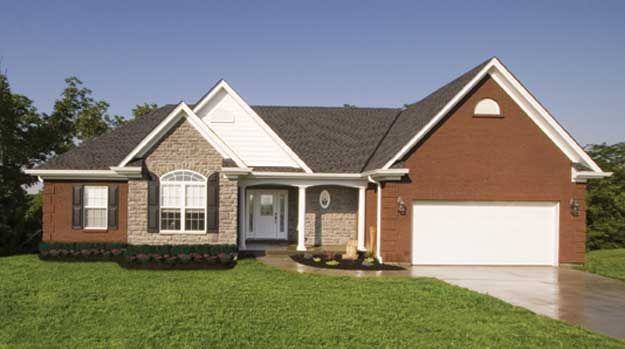 This delightful three bedroom ranch home includes many for House plans with full basement