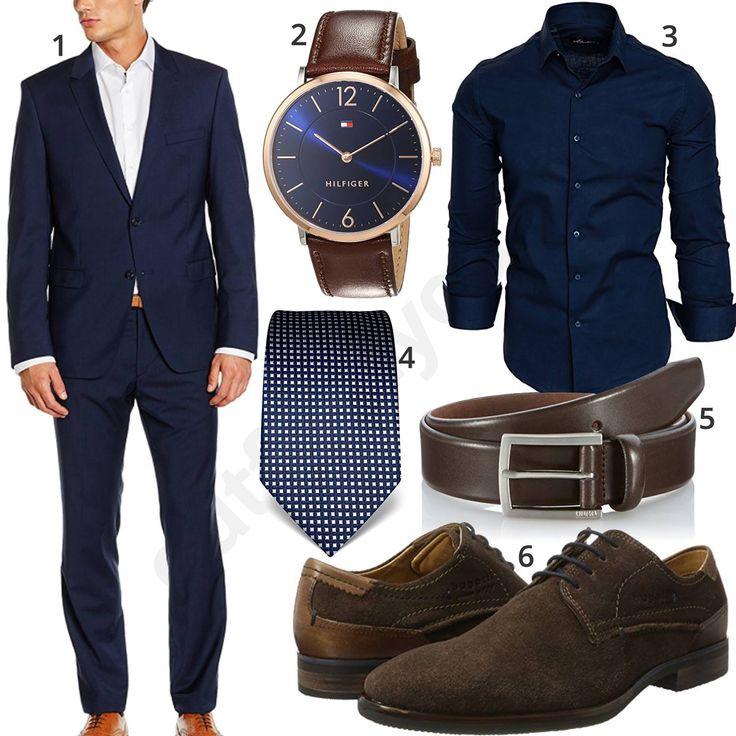Business-Outfit mit dunkelblauem Anzug und Hemd (m0967) #anzug #uhr #krawatte #tommyhilfiger #armbanduhr #hemd #outfit #style #herrenmode #männermode #fashion #menswear #herren #männer #mode #menstyle #mensfashion #menswear #inspiration #cloth #ootd #herrenoutfit #männeroutfit