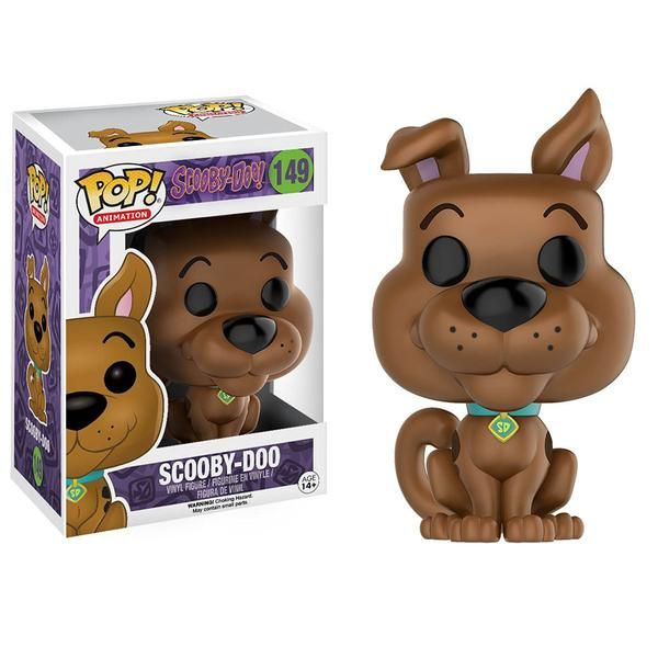 This is a Funko Scooby Doo POP Scooby Doo Vinyl Figure which is produced by one of our favorite companies, Funko. Scooby looks great in Funko POP Vinyl form and