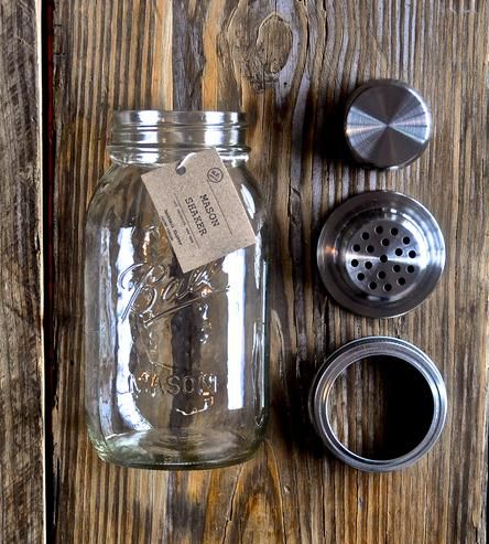 Mason Jar Cocktail Shaker   Home Dining & Barware   The Mason Shaker   Scoutmob Shoppe   Product Detail