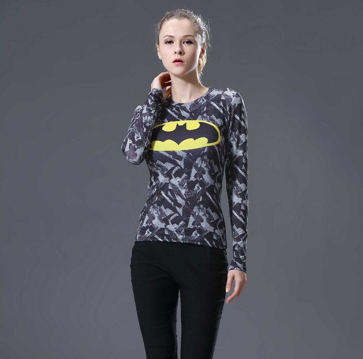 Womens Superman Shirt Marvel Costume Batman Shirt Womens Long Sleeve