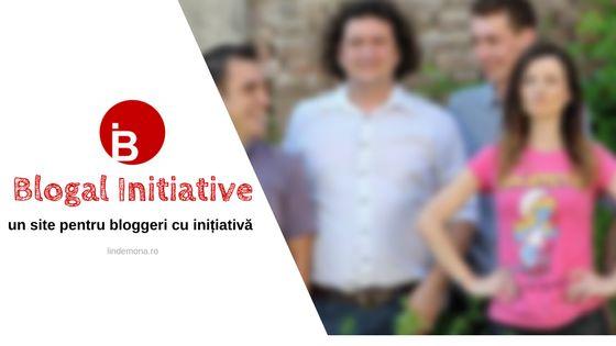 Blogal Initiative - un site pentru bloggeri cu inițiativă
