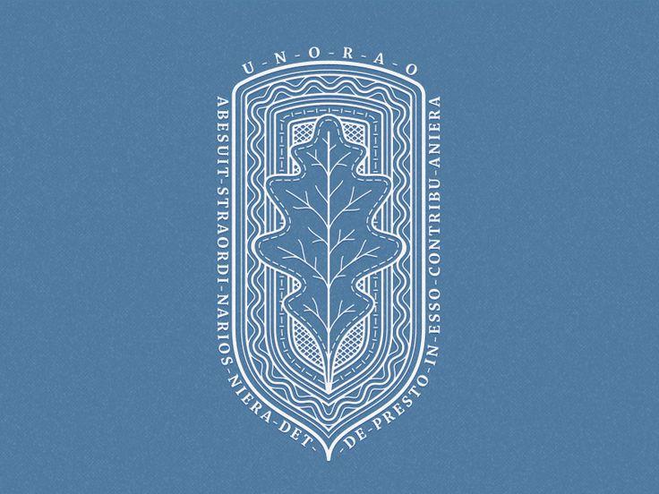 Oak Leaf Badge by Alexandr Ivanov