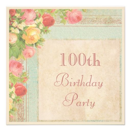 17 Best images about Vintage Birthday Party Invitations on – Invitation Birthday Party Card