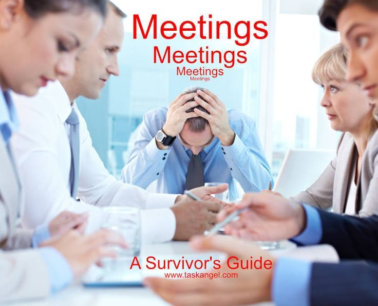 How To Get Out Of A Meeting At Work
