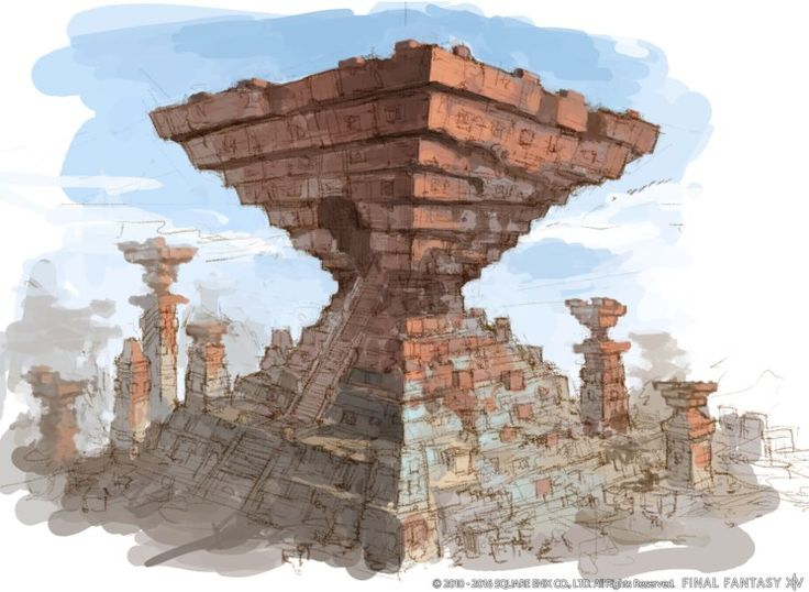 Final Fantasy XIV Concept Art