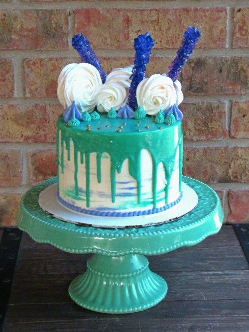 rock candy wedding cakes 17 best ideas about teal cake on teal weddings 19244