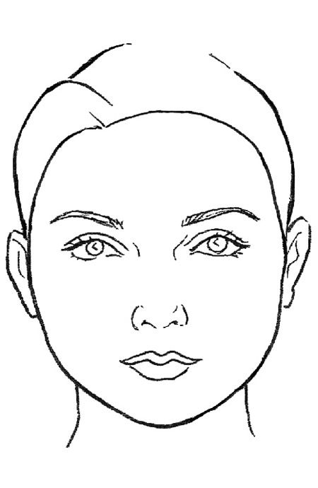 how to put blush on for round face