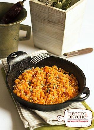 Просто&Вкусно - Вегетарианские блюда - Чечевица тушеная