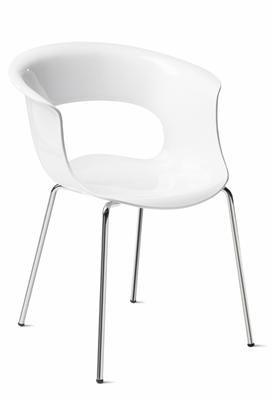EZfurn - CHAIR MISS B 4 LEG White