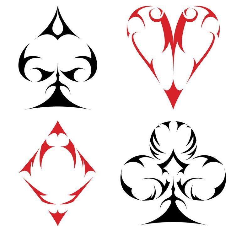 1000+ images about SouTs on Pinterest   Poker, Card Tattoo and Suits