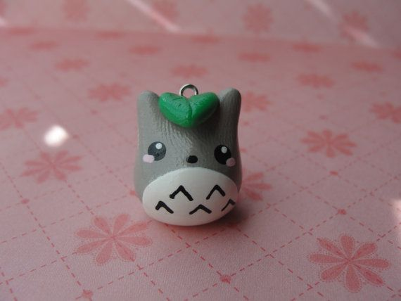 Cute Clay Totoro by CraftyOliviaCuties on Etsy