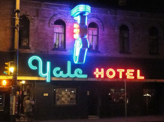 Yale Saloon: Blues venue gets new life as restaurant, music venue. - http://www.insidevancouver.ca/2015/09/16/iconic-yale-club-on-vancouvers-granville-street-set-to-reopen-as-a-saloon/