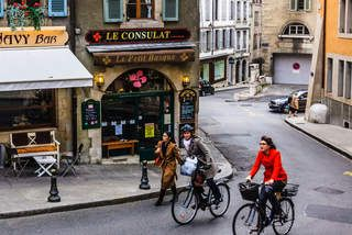 One day, three ways: Geneva
