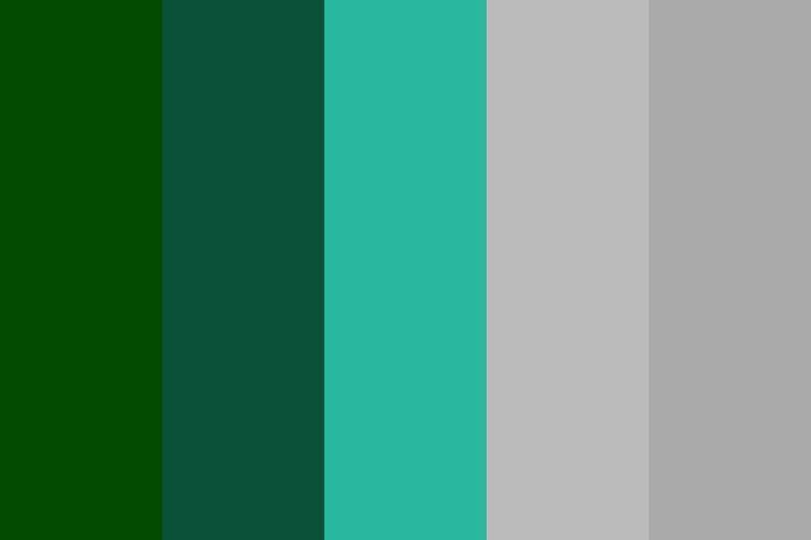 green teal aqua color palette