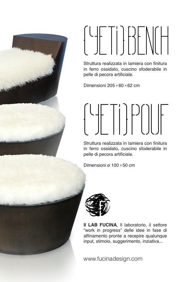 YETI Lab #pouf and #sofa description
