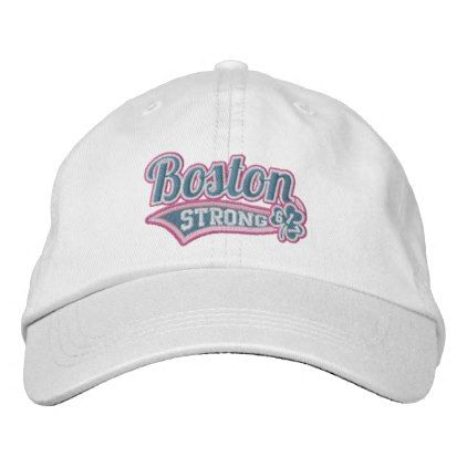 #pink - #Boston Strong Ballpark Shamrock embroidered Cap