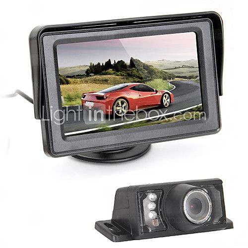 Caméra de recul - 510 x 492 - 420 Lignes TV - 120° - 1/4 pouce CMOS couleur haute définition - USD $34.99
