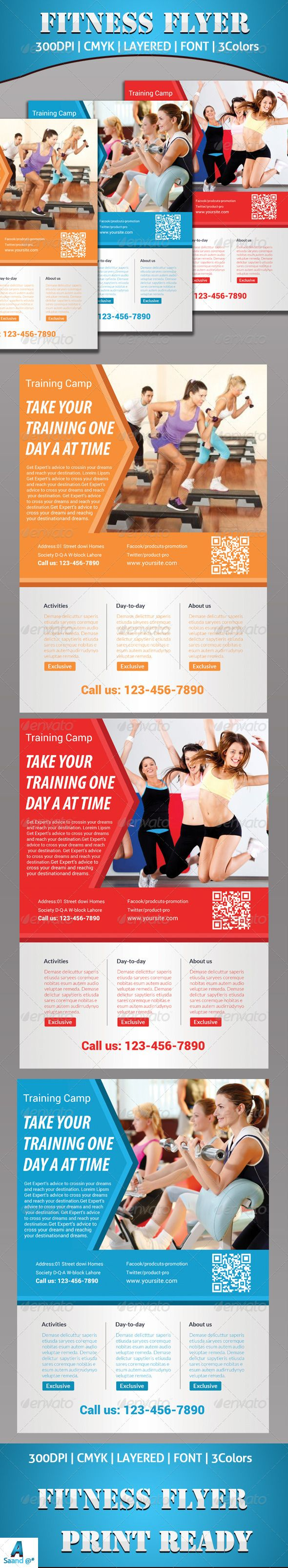 Fitness Flyer  #GraphicRiver        Fitness Flyer Template Fully layered PSD 300 Dpi, CMYK Completely editable, print ready Text/Font or Color can be altered as needed Photos are not included in the file Font File. Fonts:  .fontsquirrel /fonts/roboto  Myrido pro(system font)   Lato Font:  .fontsquirrel /fonts/lato     Created: 20November13 GraphicsFilesIncluded: PhotoshopPSD Layered: Yes MinimumAdobeCSVersion: CS5 PrintDimensions: 210x297 Tags: advert #advertisement #advertising…