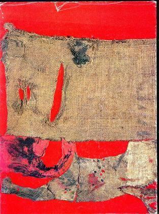 Alberto Burri. La misura aurea della materia. Roma, Anna D'Ascanio, 1980. Volume pubblicato in occasione della mostra di Roma, Anna d'Ascanio, novembre 1979 - febbraio 1980
