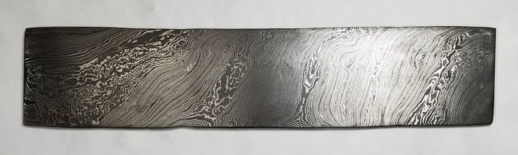 """Damascus High Carbon full tang Steel. High Quality Damascus Construction: 1095 High Carbon Steel and 15n20 Steel (Over 200 Layers). 10"""" Long, 2.16"""" Wide, 0.18 Thick. 