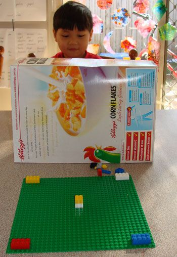 Lego Listening Game -- a new twist on the communication game I already use.