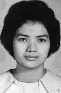 "Late in the evening of July 13, 1966, Richard Speck broke into a Chicago townhouse that served as a dormitory for nurses who worked at the South Chicago Community Hospital.  He brutally raped and murdered eight women - two Filipino exchange nurses and six American nursing students.  One young exhange nurse (pictured), 23-year-old Corazon Pieza ""Cora"" Amurao of San Luis, Batangas in the Philippines, hid under one bed after another and survived the attack."