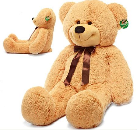 a big stuffed animal to cuddle with at night when you cant be there u003c3