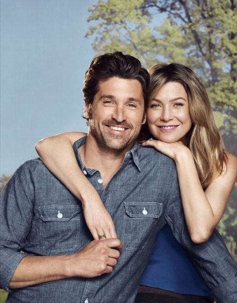 Patrick Dempsey and Ellen Pompeo from Grey's Anatomy