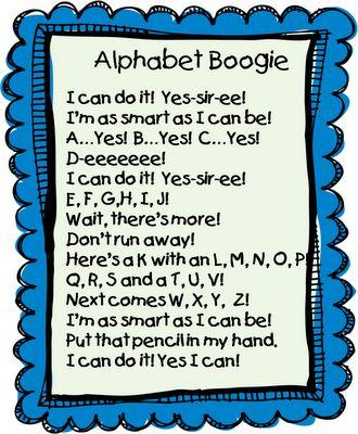 First Grade Wow: Alphabet Boogie
