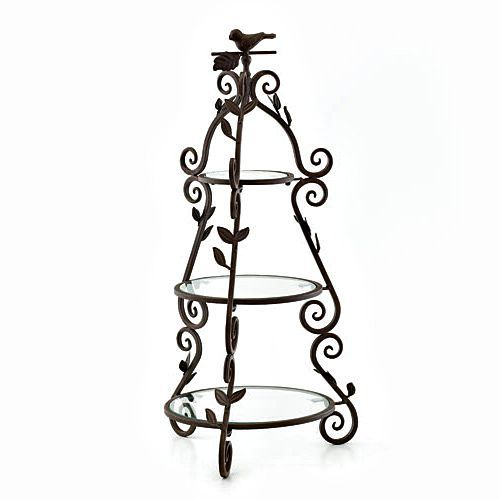 SOMERSET 3 TIERED SERVER _ Over tall this simple server is perfect for serving cakes desserts cheeses or other tidbits on any occasion.  sc 1 st  Pinterest & 965 best PedestalTiered PlatesStandsu0026Displays images on Pinterest ...