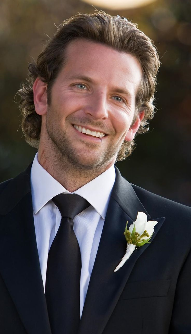 Bradley Cooper. Waiting for me to walk down the aisle. <-- oh good gravy, this comment :)