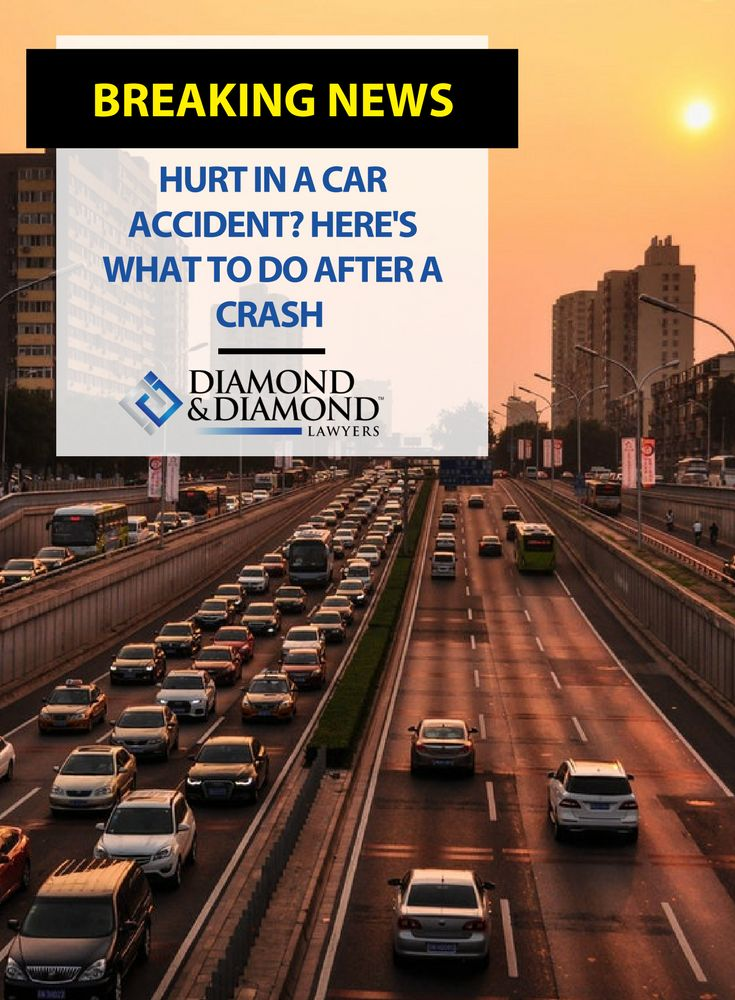 Diamond & Diamond #lawyer Richard Chang stopped by Global News to give advice on what you should do immediately after a #CarAccident. Hear his post-accident checklist and watch the full interview here.
