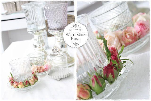 white grey home: Rosenkränzchen