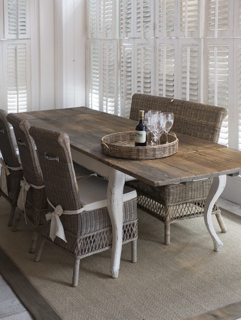 Homeshop Good living - Riviera Maison - Flamant | Tafels | Tafels, eettafels XXL | Riviera eettafel Driftwood Extended